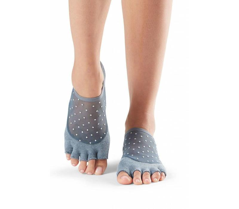 Toesox Yoga Sokken Luna Open Tenen - Icicle