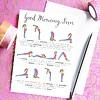 Che Dyer Yoga Ansichtkaart - Sun Salutation Sequence