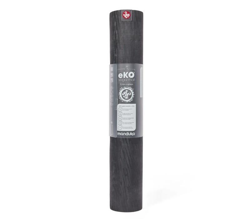 Manduka eKO Yoga Mat 180cm 66cm 5mm - Charcoal