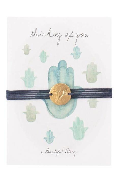 A Beautiful Story A Beautiful Story Jewelry Postcard - Hamsa