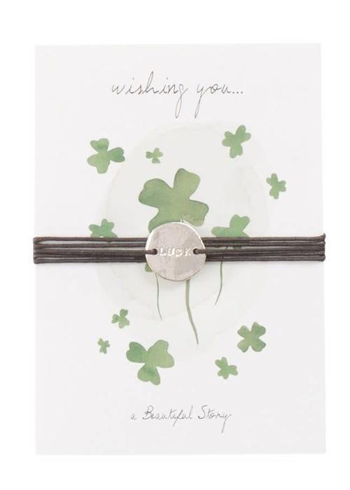 A Beautiful Story A Beautiful Story Jewelry Postcard - Luck
