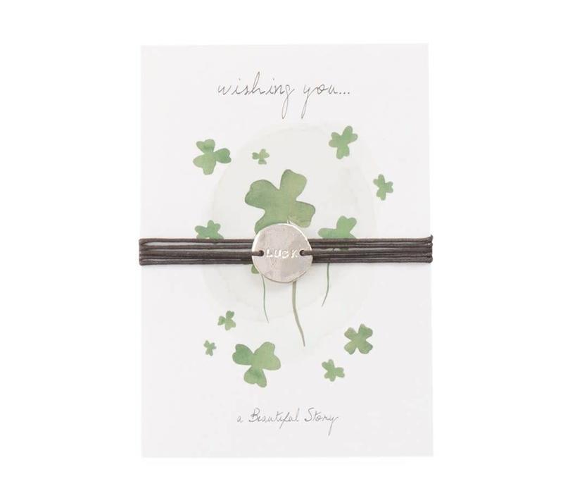 A Beautiful Story Jewelry Postcard - Luck