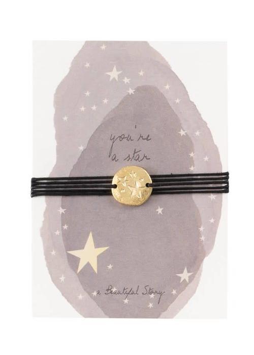A Beautiful Story A Beautiful Story Jewelry Postcard - Stars