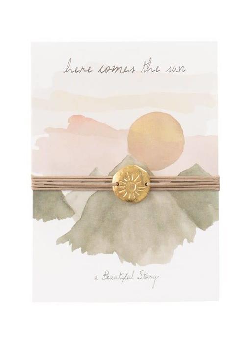 A Beautiful Story A Beautiful Story Jewelry Postcard - Sun