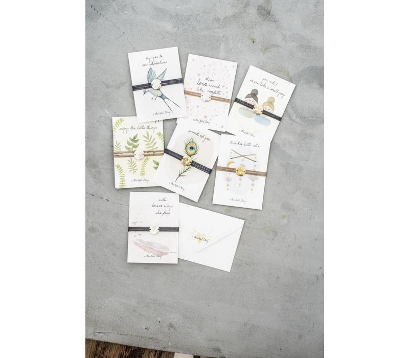 A Beautiful Story Jewelry Postcard - Sun