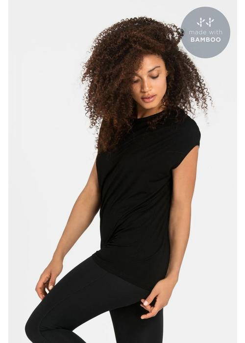 Dharma Bums Dharma Bums Luxe Layer Top - Schwarz