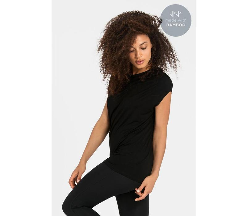 Dharma Bums Luxe Layer Top - Black