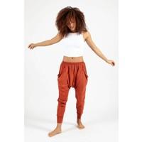 Dharma Bums Genie Pants - Rust