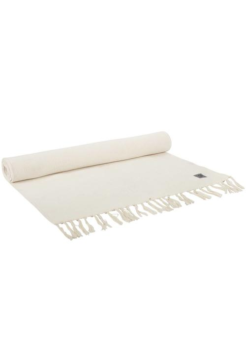 Yogisha Yogamatte Teppich Bio-Baumwolle 200cm 65cm 2mm - Natürlich