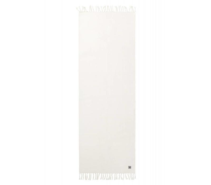 Yogamat Biologisch Katoen 200cm 65cm 2mm - Ecru