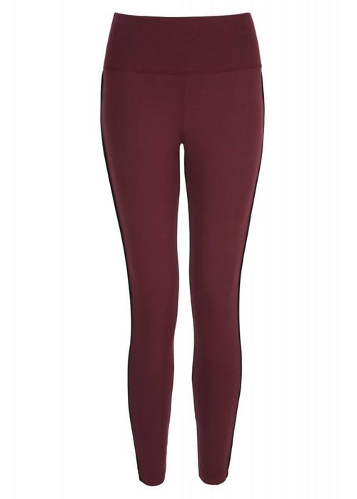 Asquith Asquith Flow With It Leggings - Claret/Navy