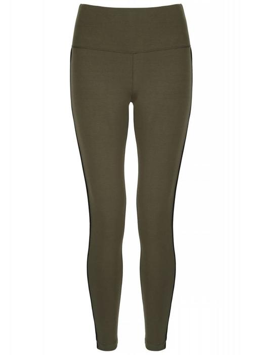 Asquith Asquith Flow With It Leggings - Khaki/Jet Black