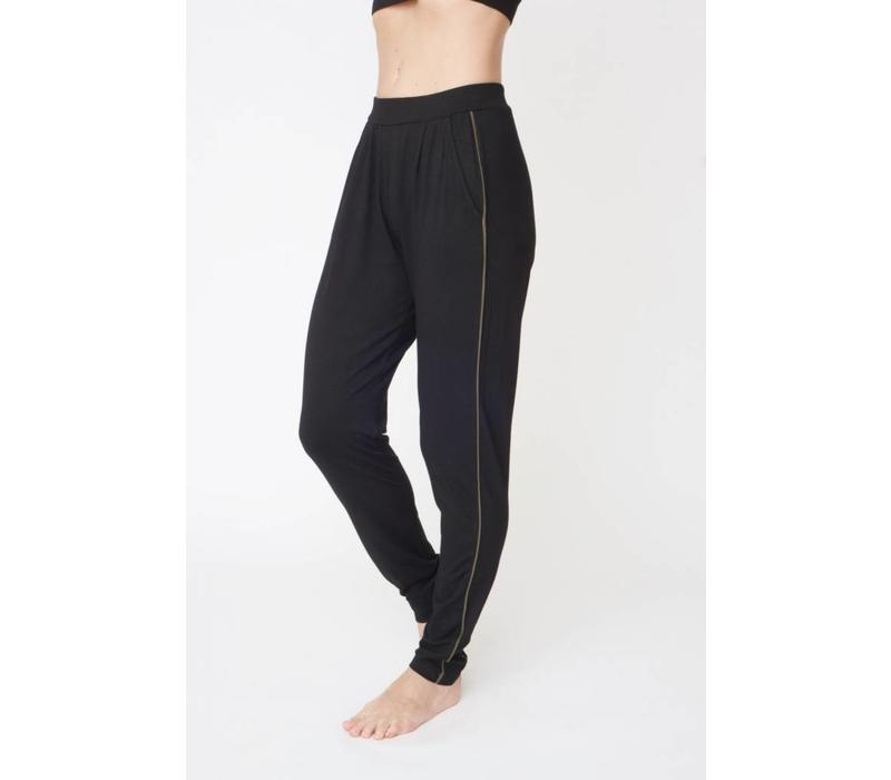 Asquith Divine Pants - Jet Black/Khaki