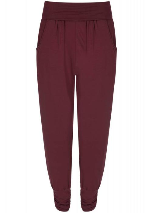 Asquith Asquith Long Harem Pants - Claret