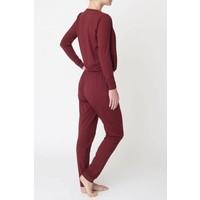 Asquith Jumpsuit - Claret