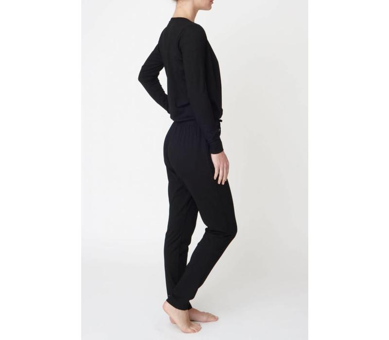 Asquith Jumpsuit - Jet Black