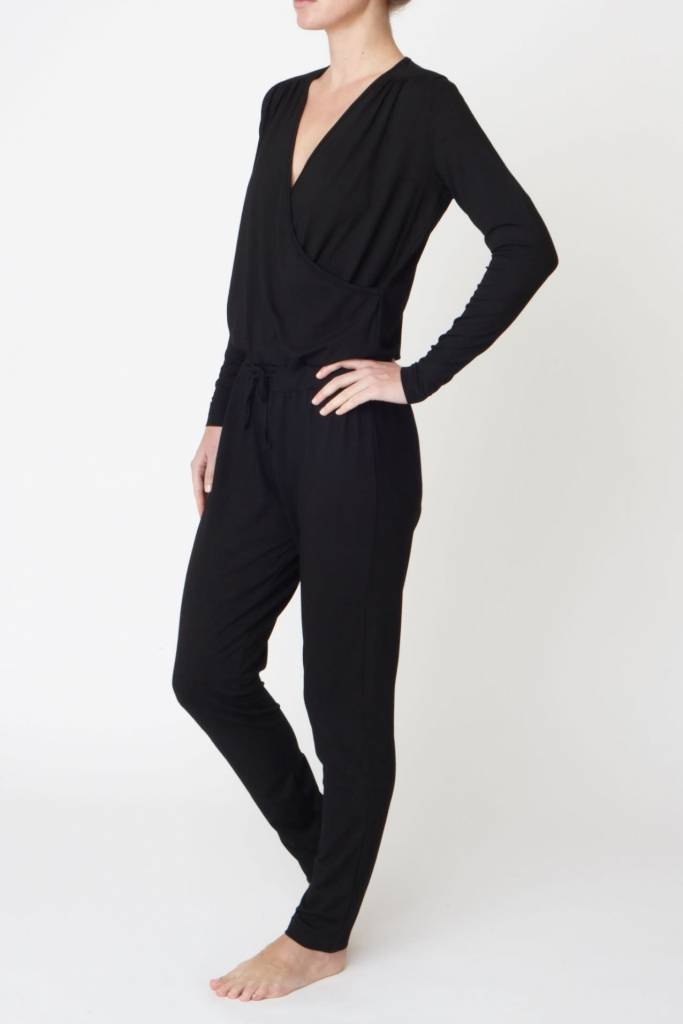 59f7bb507b Spiritual Gangster Hacci Jumpsuit - Heather Grey - Yogisha Amsterdam