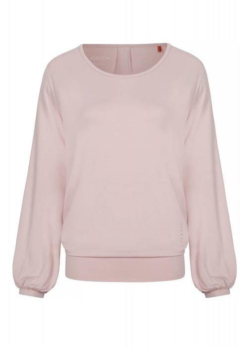 Asquith Asquith Long Sleeve Smooth You Tee - Pearl Pink