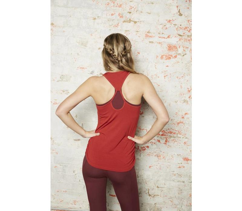 Asquith Chi Racerback - Rust