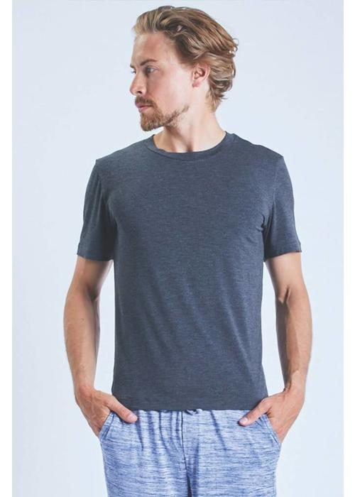Ohmme Ohmme Cobra Bamboo Shirt - Solid Grey