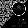 Yogisha Yogisha Winkel Cadeaukaart 25 Euro
