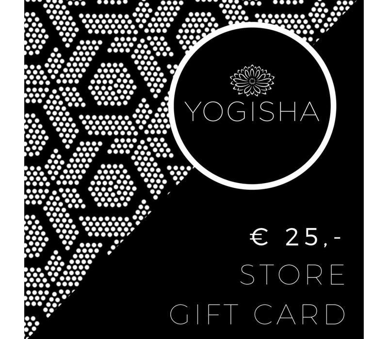 Yogisha Winkel Cadeaukaart 25 Euro