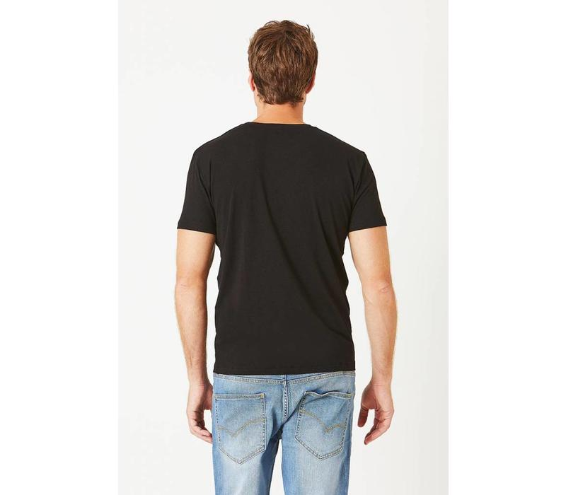 Bam V-Neck T-Shirt - Black
