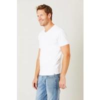 Bam V-Neck T-Shirt - White