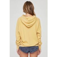 Spiritual Gangster Varsity Pullover Hoodie - Golden Sun