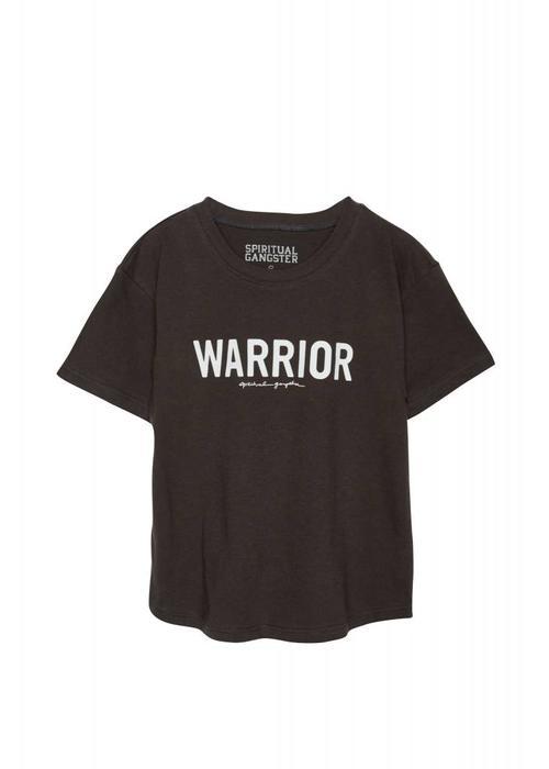 Spiritual Gangster Spiritual Gangster Warrior Kids Tee - Vintage Black