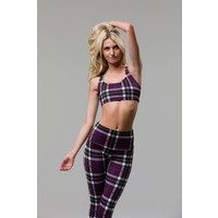 Onzie Chic Bra - Plaid