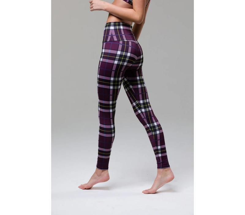 Onzie High Rise Legging - Plaid
