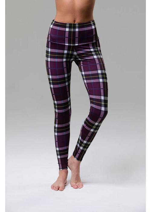 Onzie Onzie High Rise Legging - Plaid