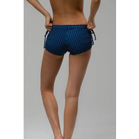 Onzie Side Tie Short - Pebble Dot One Size
