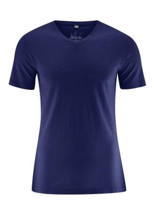 HempAge HempAge V-Neck T-Shirt - Midnight