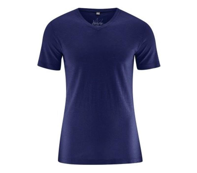 HempAge V-Neck T-Shirt - Midnight