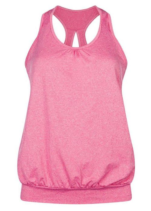 Tame The Bull Tame The Bull Over The Top Yogavest - Magenta Melee