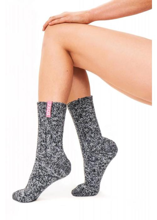 Soxs Soxs Women's Socks - Dark Grey Half High