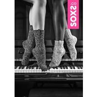 Soxs Women's Socks - Dark Grey Half High