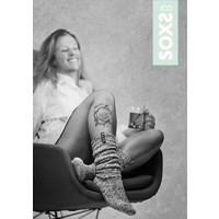Soxs Dames Sokken - Off White Knee High