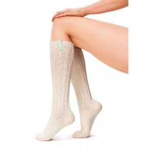 Soxs Soxs Dames Sokken - Off White Knee High