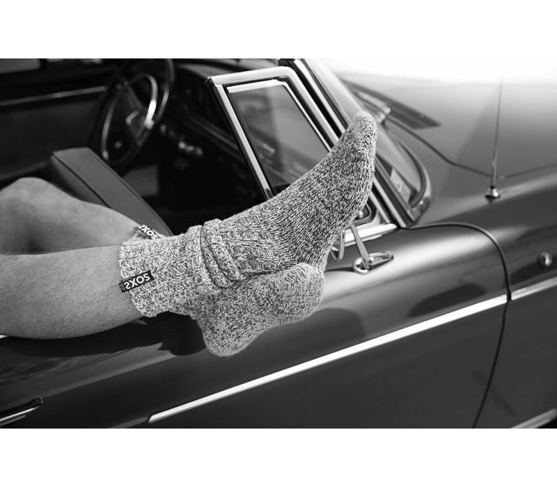 Soxs Heren Sokken - Grey Knee High
