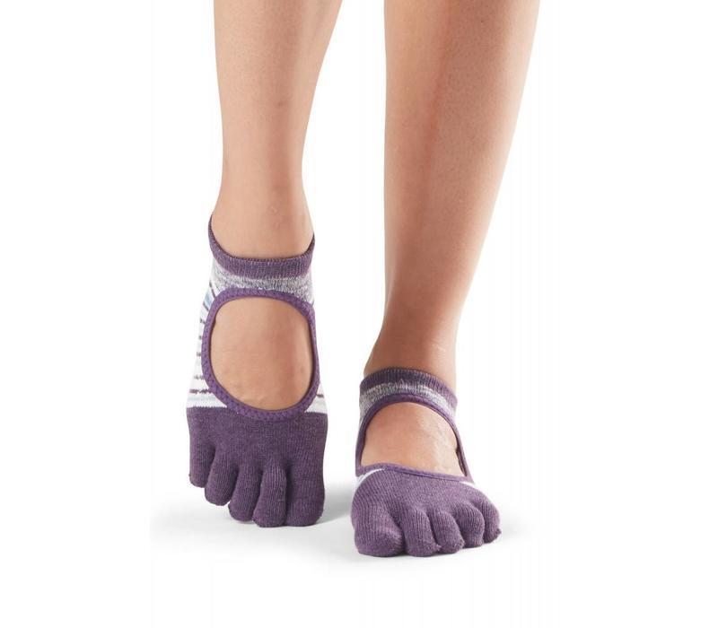 Toesox Yoga Sokken Bellarina Dichte Tenen - Brisk