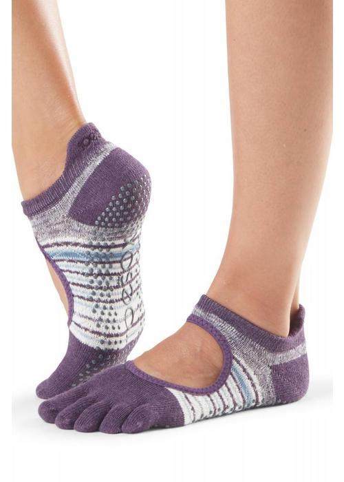 Toesox Toesox Yoga Sokken Bellarina Dichte Tenen - Brisk