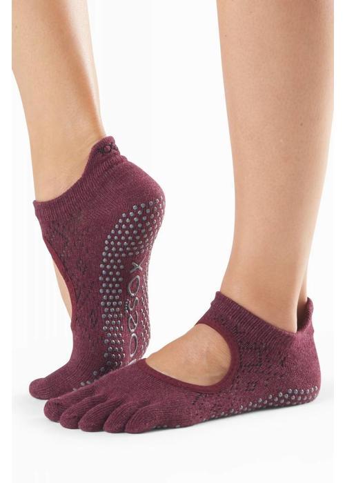 Toesox Toesox Yoga Sokken Bellarina Dichte Tenen - Vixen