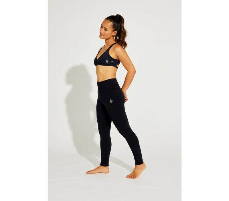 Shakti Activewear Mid Rise Leggings - Schwarz