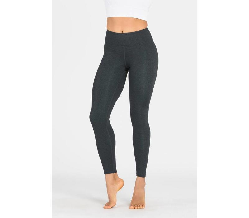 Dharma Bums Yoga Legging - Plain Charcoal