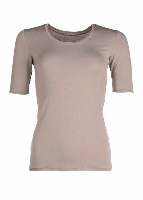 Royal Bamboo Royal Bamboo The Original Short Sleeve - Taupe