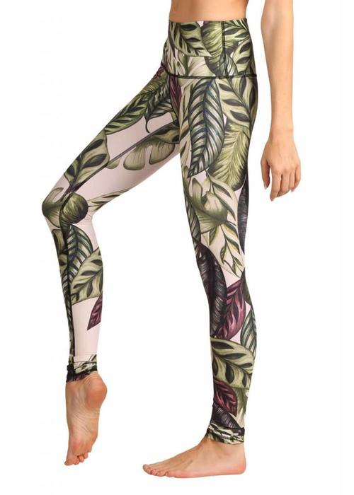Yoga Democracy Yoga Democracy Yoga Legging - Leaf It To Me