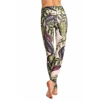 Yoga Democracy Yoga Legging - Leaf It To Me